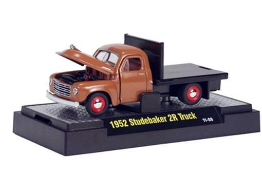 Studebaker: 2R Truck (1952) - Marrom - Auto Trucks - 1:64