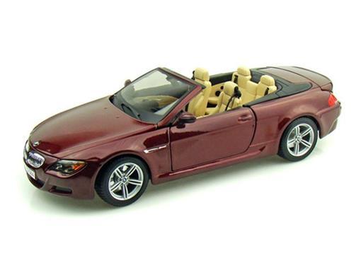 BMW: M6 Cabrio - Vermelho - 1:18