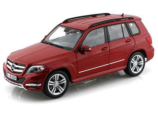 Mercedes Benz: GLK-Class - Vermelha - 1:18