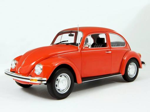 Volkswagen: Fusca 1200 (1983) - Vermelho - 1:18