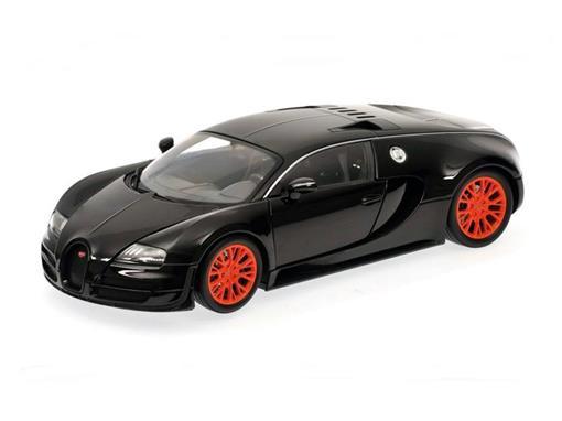 Bugatti: Veyron Super Sport (2011) - Preto Metálico - 1:18