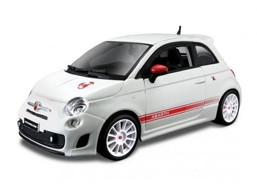 Fiat: 500 Abarth Esseesse - Branco - 1:24