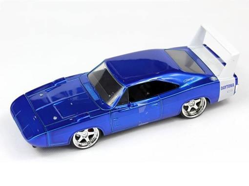Dodge: Charger Daytona (1969) - Azul - Bigtime Muscle - 1:24