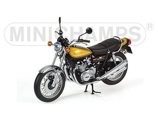 Kawasaki: Z1 900 Super 4 (1972) - Verde / Amarela - 1:12