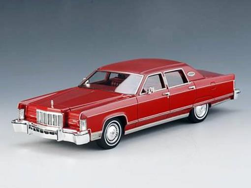 Lincoln: Continental (1976) - Vermelho - 1:43