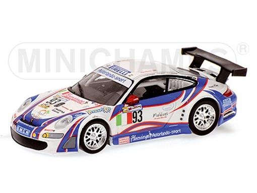 Porsche: 911 GT3 RSR #93 - Simonsen / Nielsen / Ehret - 24h Le Mans (2007) - 1:64