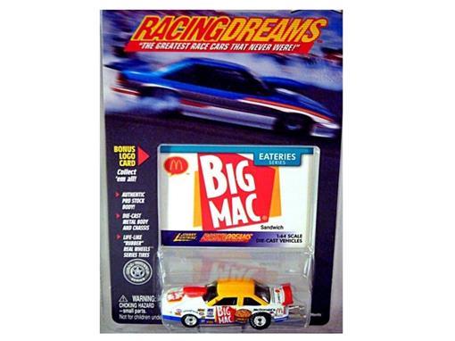 McDonald's: BIG MAC - Racing Dreams - Eateries (1999) - 1:64