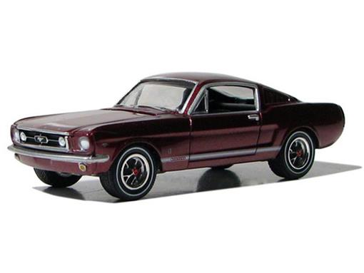 Ford: Mustang GT (1965) - Borgonha - Route 66 U.S.A - 1:64