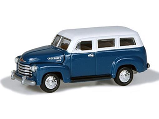Chevrolet: Suburban - Truckin America (1950) - 1:64