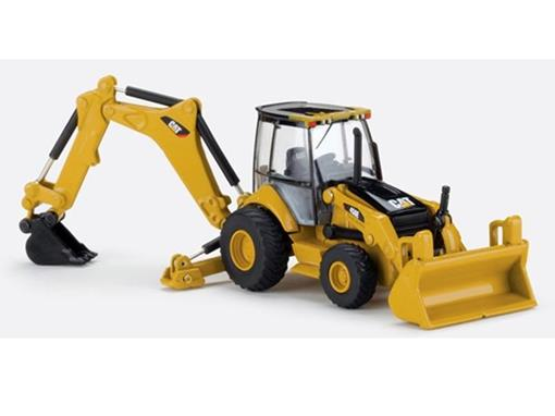 Caterpillar: Retroescavadeira 450E Backhoe Loader - 1:87 - HO - Norscot