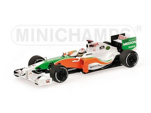 Force India:  Adrian Sutil - Showcar 2010 - 1:43