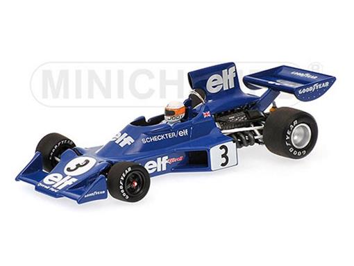 Tyrrell Ford: 007 - Jody Scheckter - Winner Swedish GP (1974) - 1:43