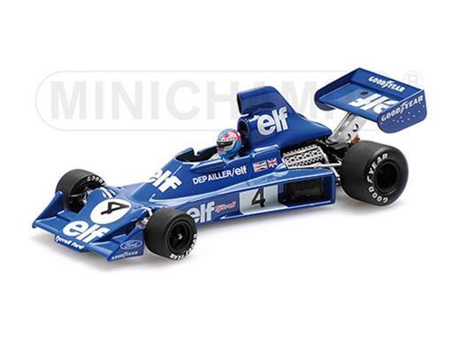 Tyrrell Ford: 007 - Patrick Depailler (1975) - 1:43