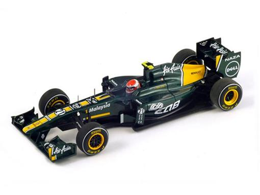 Lotus: T128  21 -  Jarno Trulli - Chinese GP (2011) - 1:43