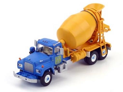 Mack R: Berkeley Ready Mix - Cement Truck - HO