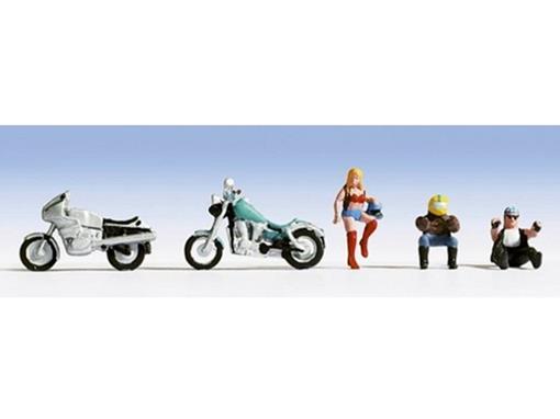 Figuras de Pilotos e Motos - HO