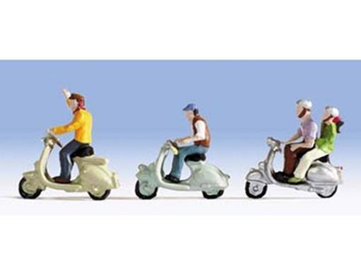 Figuras de Motociclistas - HO