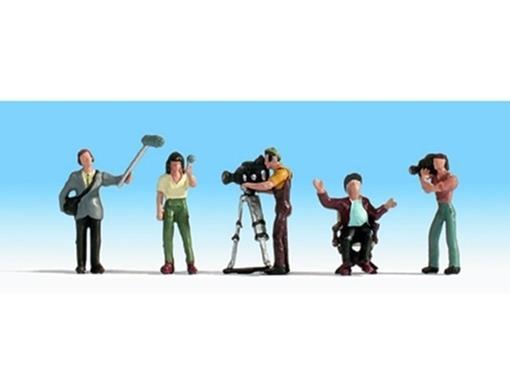Figuras de Equipe de Filmagem - HO