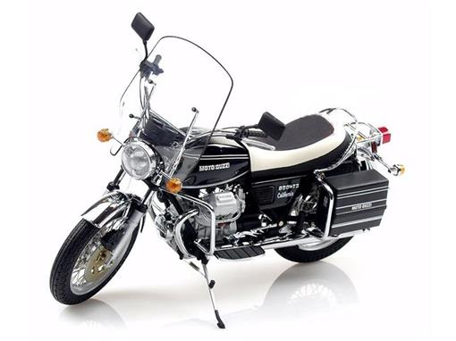 Guzzi: 850 T3 Califórnia (1975) - Preta / Branca - 1:12