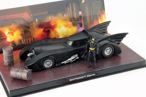 Batmovel: Batman Movie (1989) - Preto - 1:43