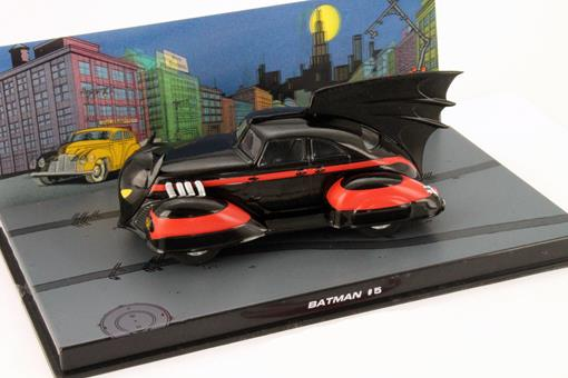 Batmovel: Batman 5 (1941) - Preto - 1:43