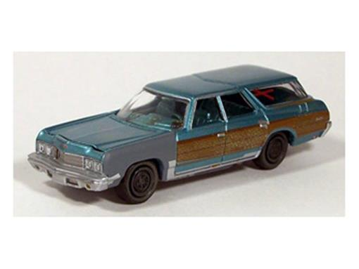 Chevrolet: Caprice Wagon (1973) - Wicked Wagons - 1:64