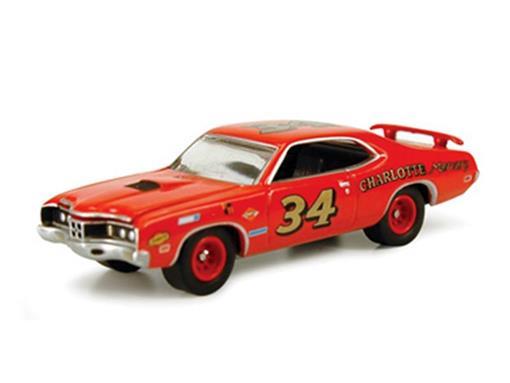 Ford: Mercury Cyclone Spoiler (1970) - Classic Plastic - 1:64