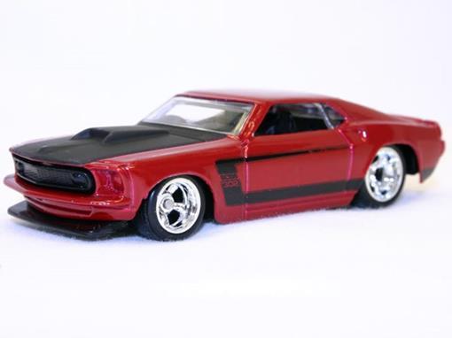 Ford: Mustang (1969) - Larrys Garage - 1:64