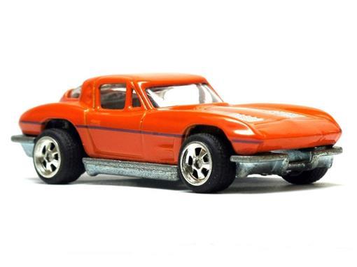 Chevrolet: Corvette (1963) - Larrys Garage - 1:64