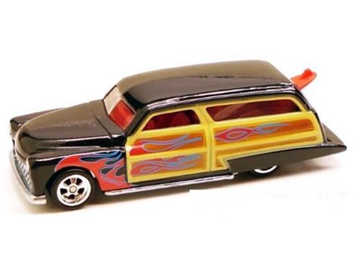 Purple Passion: Woodie - Larrys Garage - 1:64