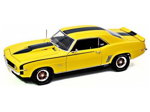 Chevrolet: Camaro Baldwin Motion Daytona (1969) - Amarelo - 1:18