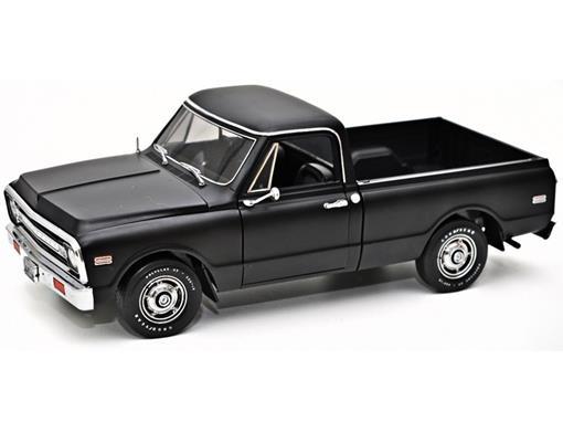 Chevrolet: Fleetside C 10 Pickup (1972) - Preto - 1:18