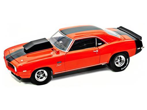 Chevrolet: Camaro Baldwin Motion (1969) - Laranja - 1:18