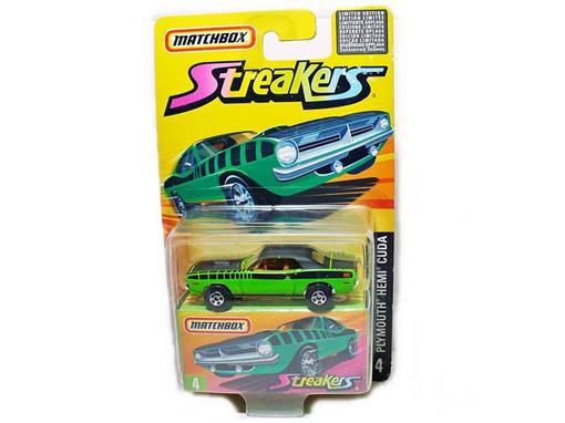 Plymouth: Hemi Cuda - Streakers - 1:64