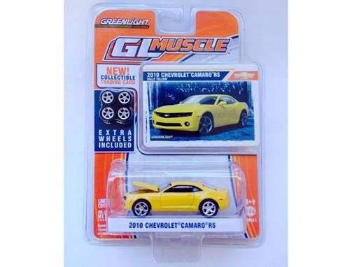 Chevrolet: Camaro RS (2010) - Amarelo - GL Muscle - Série 1 - 1:64
