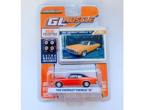 Chevrolet: Chevelle SS (1969) - Vermelho - GL Muscle - Série 1 - 1:64