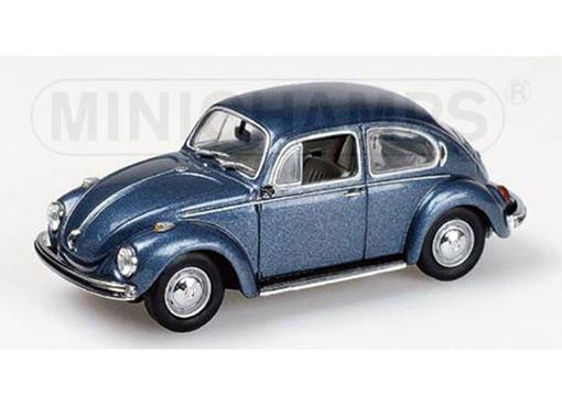 Volkswagen: 1302 Saloon Fusca (1970-72) - Azul Metálico - 1:43