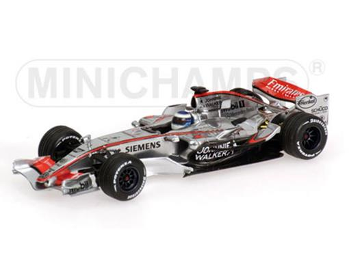 McLaren Mercedes: MP4-21 - M. Hakkinen - Barcelona 30th Nov. 2006 - 1:43