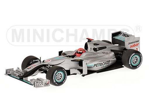 Mercedes GP Petronas:  Michael Schumacher - Showcar 2010