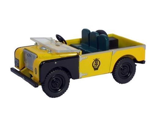 Land Rover: AA - Amarelo / Preto - 1:43