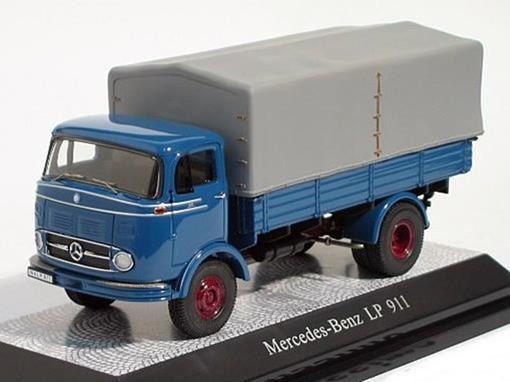Mercedes-Benz: LP 911 - Azul - 1:43