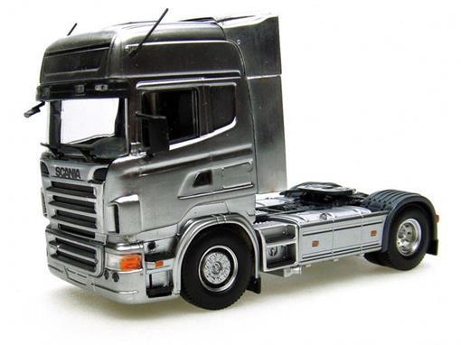 Scania: R580 - Prata - 1:50