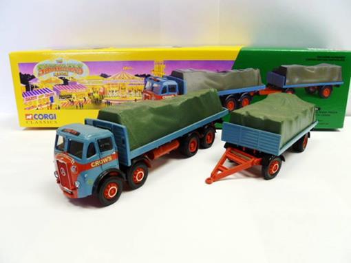 Atkinson: 8 Wheel Rigid Truck & Trailer -
