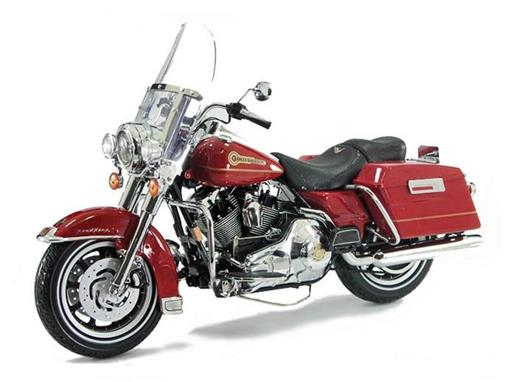Harley-Davidson: Road King Firefighter (2006) - Special Edition - Vermelha - 1:10