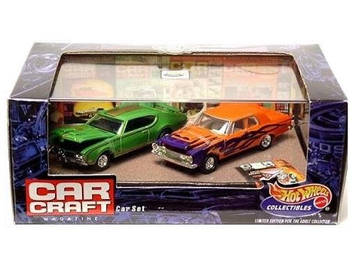 Set: Olds 442 1969 / Plymouth 426 Max Wedge 1963 - Car Craft - 1:64
