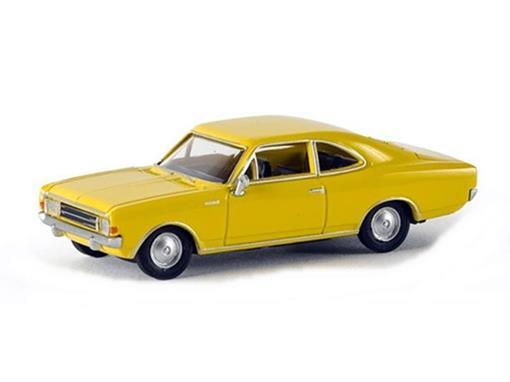 Opel: Rekord C Coupé - Amarelo - HO