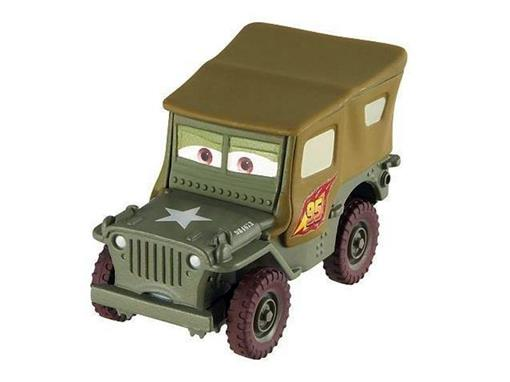 Sargento - Equipe de Corrida - Disney Pixar Cars 2 - 1:55