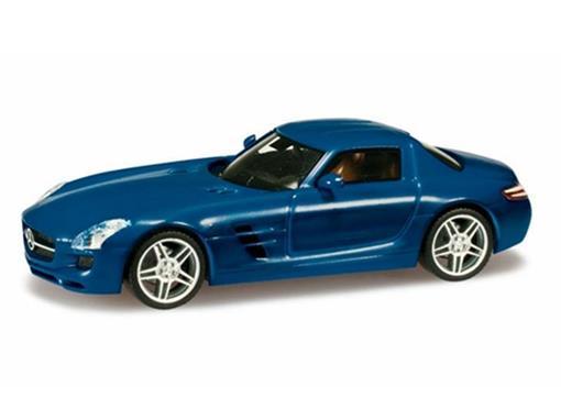 Mercedes Benz: SLS AMG - Azul - HO