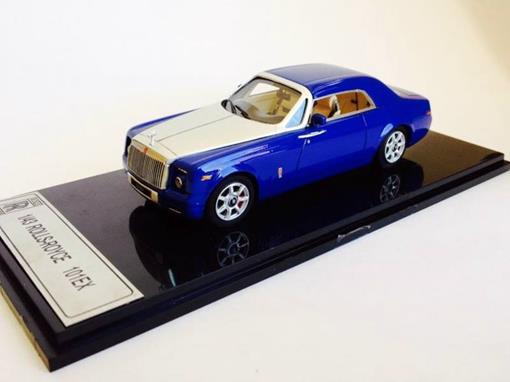 Rolls-Royce: 101EX - Azul / Prata - 1:43