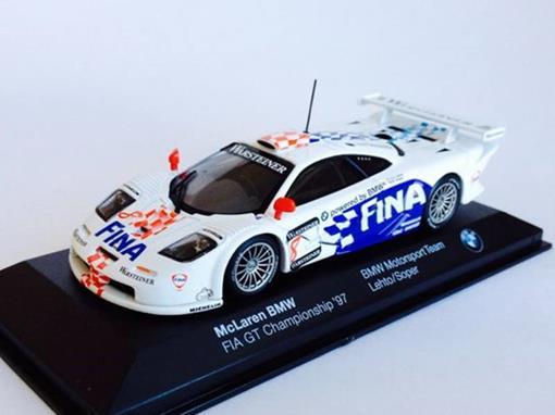 McLaren: BMW FIA GT #8 Championship (1997) - BMW Motorsport Team - Lehto / Soper - 1:43